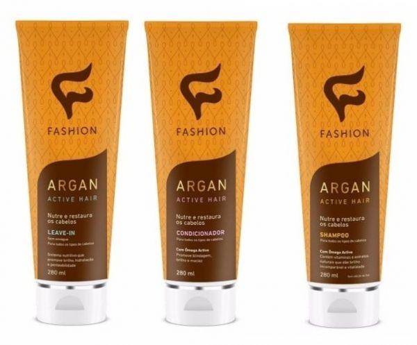 Kit Argan Active Hair Fashion Cosmeticos 12 Unidades Frete Gratis Fashion Cosmeticos Vendas 11 2834 6905